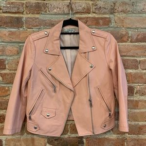 👇🏼REDUCED Rebecca Minkoff leather moto jacket S